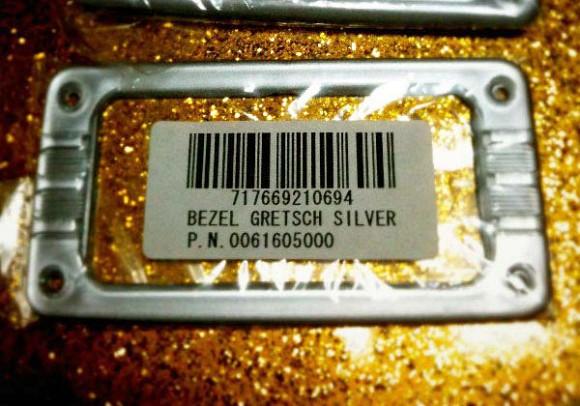 Gretsch Silver Bezel