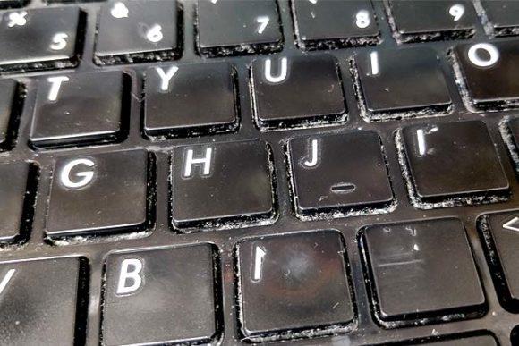 キーボード 掃除 パソコン ノート