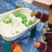 1歳の子供のクリスマスプレゼントはおうち用砂遊び「KINETIC SAND」に決まりました。