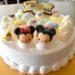 息子の4歳の誕生日ケーキはサーティワンのディズニーツムツムランド バブルファンタジー!(とコストコの)
